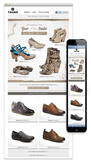 Responsive design Tsubo Fashion