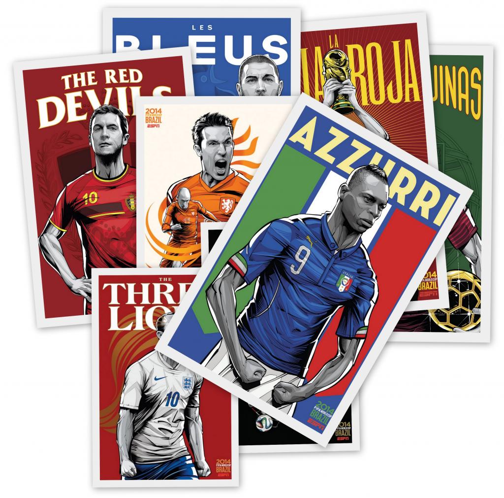 Walter van der Scheer ESPN-Posters