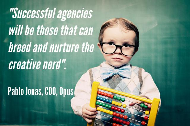 Breed and nurture creative nerds